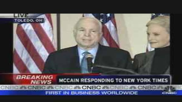 John McCain Press Conference