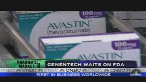 Genentech Waits on the FDA