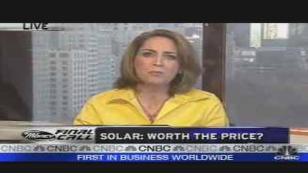 Solar: Worth the Price Tag?