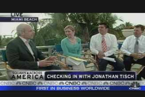 Checking in with Jonathan Tisch