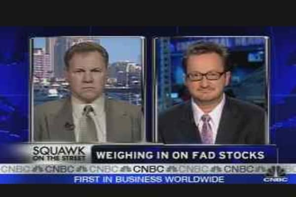 Weighing in on Fad Stocks