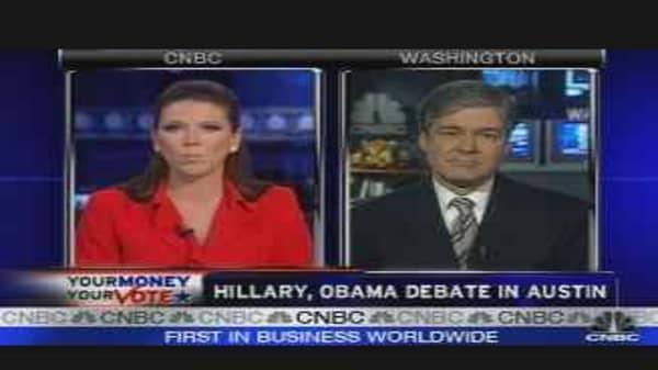 Hillary & Obama Debate