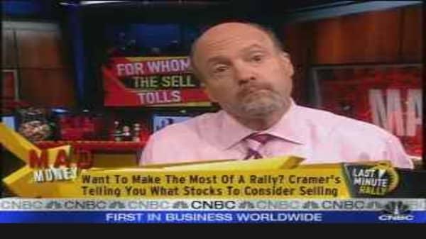 Cramer's Rally Sells