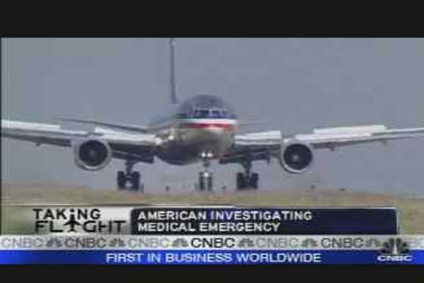 American Airlines Flight Death
