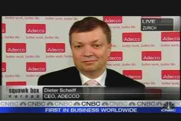 Adecco CEO on US Slowdown