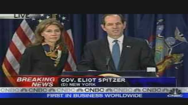 NY Governor Eliot Spitzer Resigns