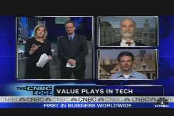 Tech Value Plays