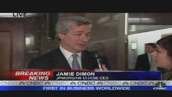 Jamie Dimon Exclusive