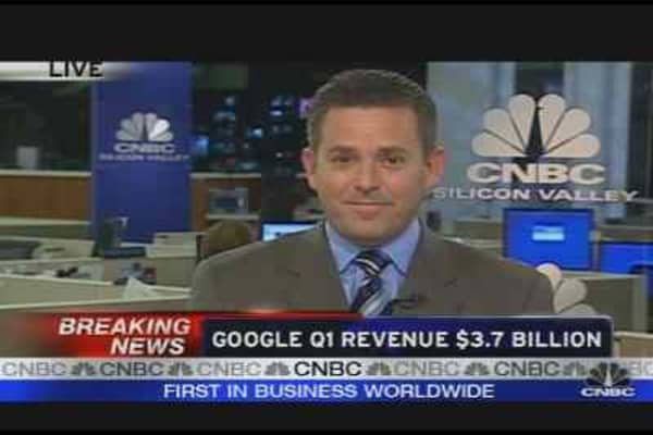 Google Q1 Revenue $3.7B
