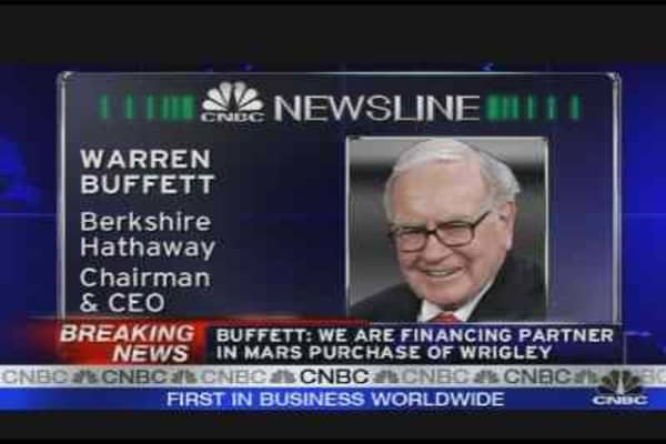 Warren Buffett on Mars/Wrigley Deal