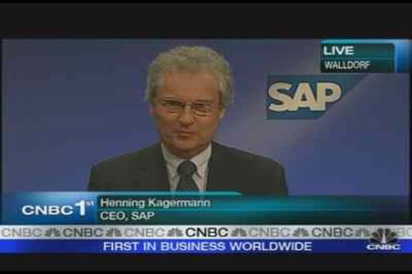 SAP Misses on Quarterly Earnings