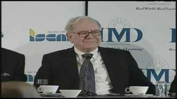 Buffett Talks Business