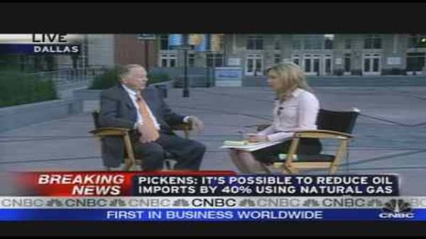 Boone Pickens on Oil