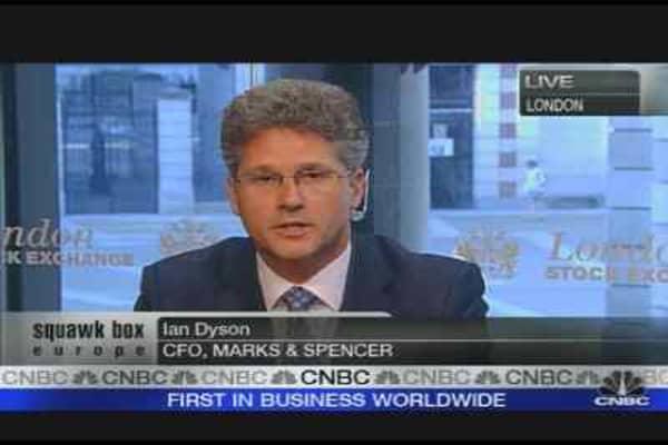 M&S CFO on 'Taking the Business Forward'