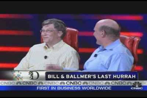 Bill & Ballmer's Last Hurrah