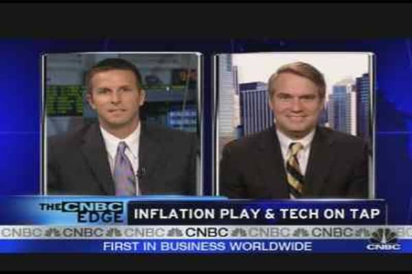 Inflation Play & Tech on Tap