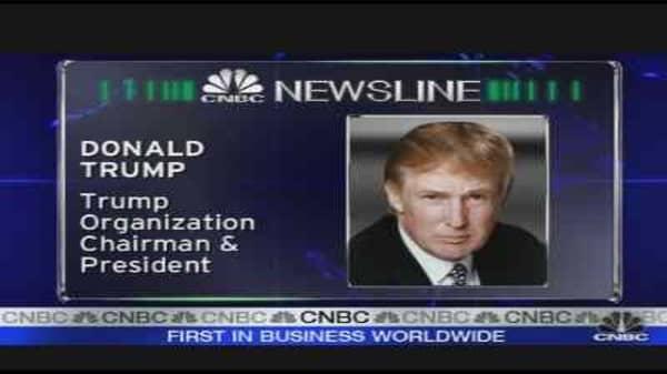 Building Talk with Trump