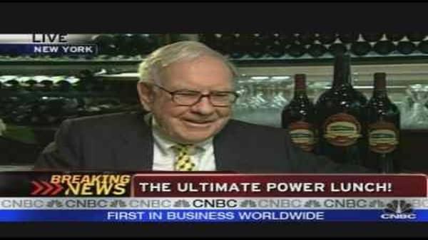 Power Lunch with Warren Buffett