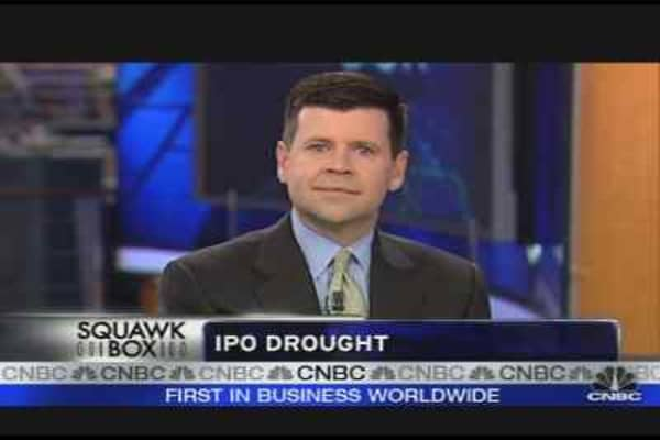IPO Drought