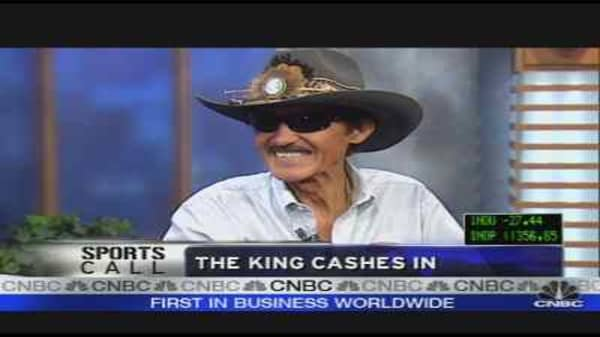 The King Cashes In