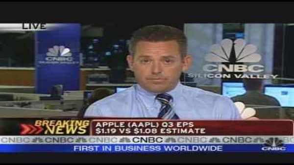 Apple, TXN Earnings