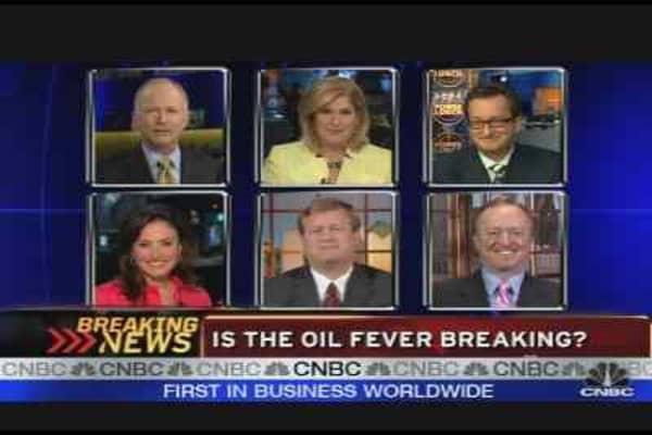 Oil Fever Breaking?