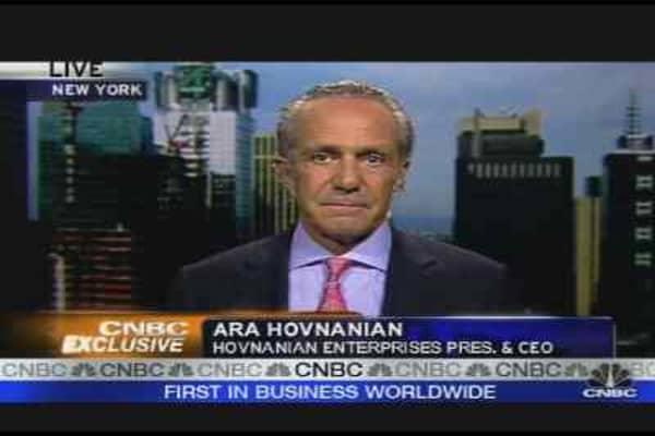 Hovnanian on a Turnaround