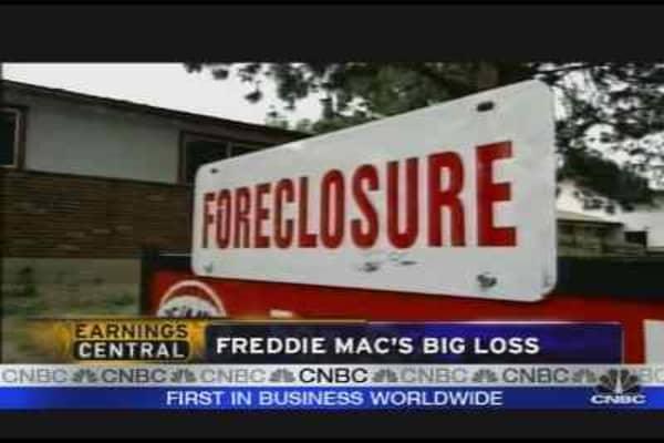 Realty Check: Freddie Earnings