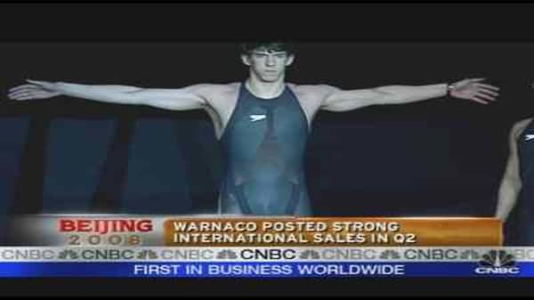 Warnaco's Olympic Push