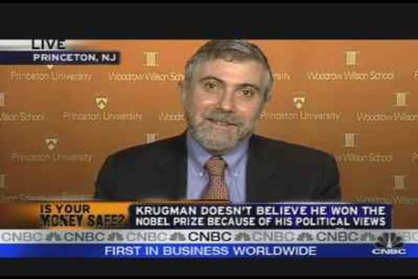 Nobel Prize Winner on the Economy