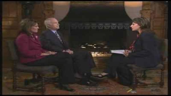 McCain/Palin Talk the Economy