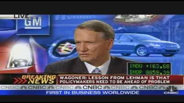 General Motors CEO on Earnings