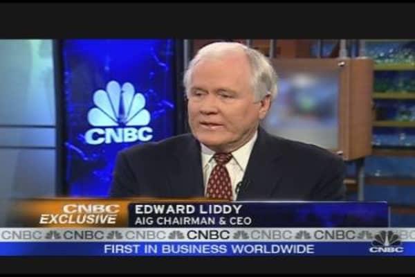 AIG CEO Defends Bonuses