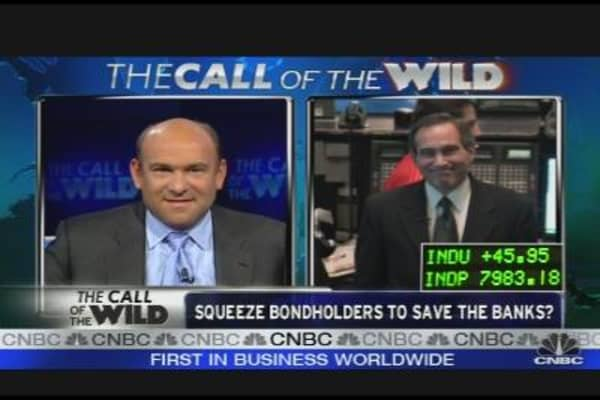Squeeze Bondholders to Save the Banks?