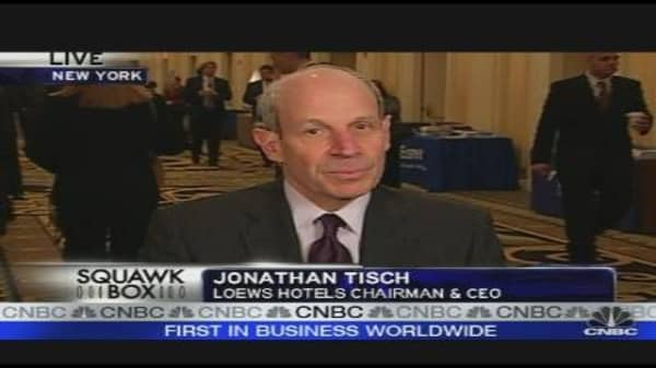 Loews CEO on the Economic Slowdown