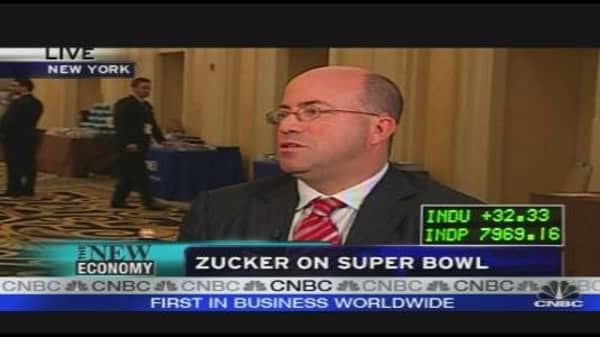 NBC's Zucker on the Super Bowl