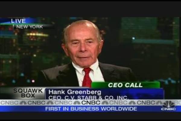 Greenberg on Rebuilding AIG