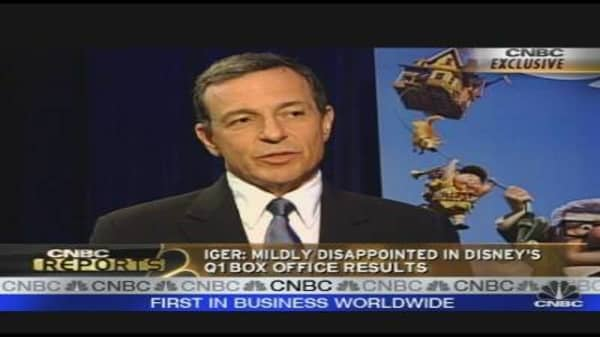 Iger on Earnings