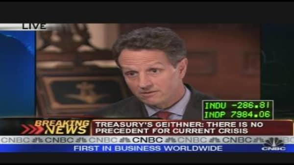 Geithner Speaks
