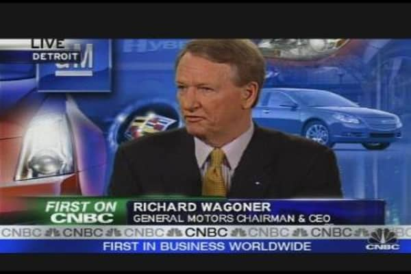 GM's Wagoner: $30B to Viability