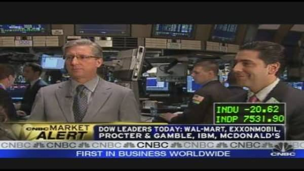 Stocks Near Bottom