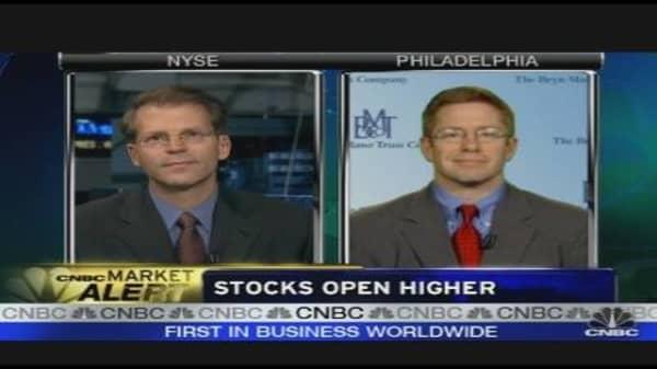 Stocks Open Higher