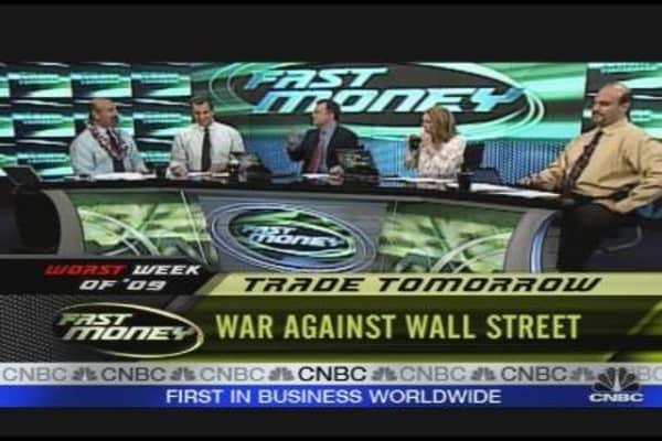War Against Wall Street