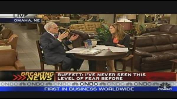 Warren Buffett: Fear Affects Everyone