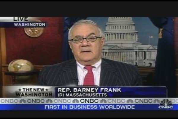 Barney Frank: Banks Complaining Congress Too Hard
