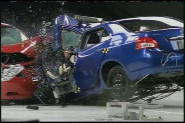 The Toyota Yaris vs. Toyota Camry