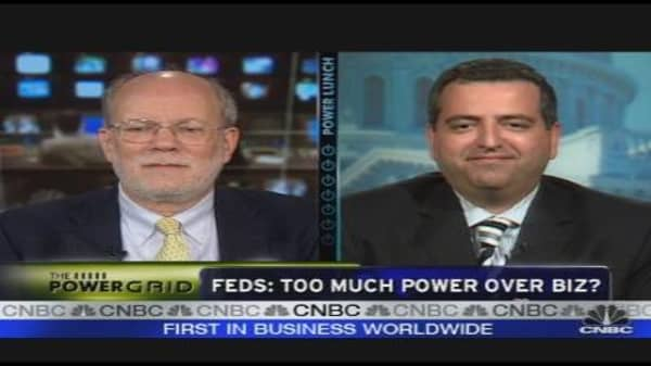 Feds: Too Much Power Over Biz?