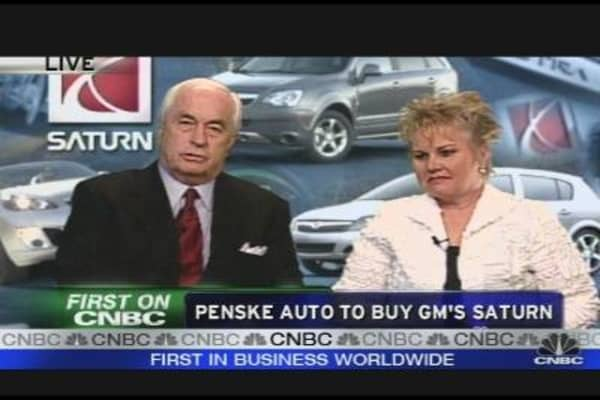 Penske Buying Saturn