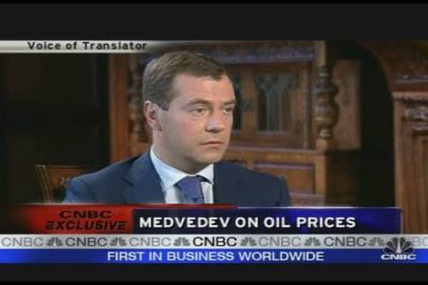 Medvedev on Russia's Recovery