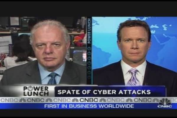 Cyber Attack Hits Government, Financial Websites